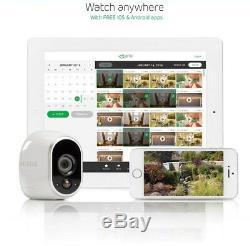 Netgear Arlo Wire-free 1 Camera Hd Security System Model Vms3130