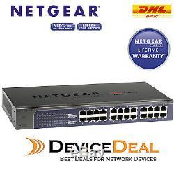 Netgear JGS524E Prosafe Plus Switch 24-Port Fast Gigabit Ethernet