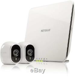 Netgear KIT VIDEOSORVEGLIANZA sicurezza Arlo VMS3230 + 2 telecamere WiFi IP cam