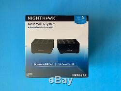 Netgear Nighthawk AX1800 Dual-Band Mesh Wi-Fi 6 System 2-Pack MK62