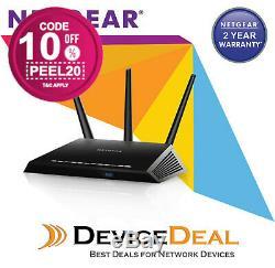 Netgear Nighthawk D7000 AC1900 Dual-Band WiFi VDSL/ADSL Modem Router OZ Stock