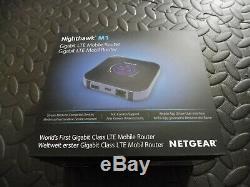 Netgear Nighthawk M1 Gigabit LTE Mobile Router MR1100-1TFUKS (O2 Network)