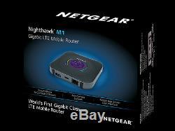 Netgear Nighthawk M1 Gigabit LTE Mobile Router New 4G broadband Ethernet UK