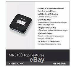 Netgear Nighthawk M2 Mobile Router MR2100-1EEEUS RRP £630