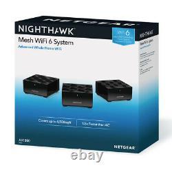 Netgear Nighthawk Mesh MK63 Whole Home Wifi 6 System