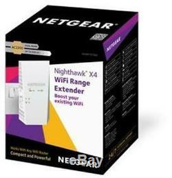 Netgear Nighthawk X4 AC2200 WiFi Range Extender Wall Plug Design 2.4GHz/5GHz