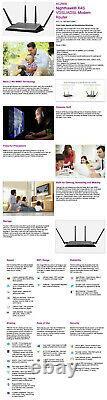 Netgear Nighthawk X4S D7800 Dual-Band AC2600 WiFi VDSL/ADSL Modem Router NBN
