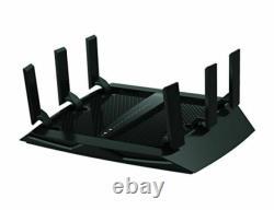 Netgear Nighthawk X6 Tri-Band WiFi Router Black R8000-100NA AC3200