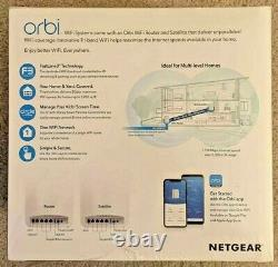 Netgear ORBI RBK50 Whole Home MESH WiFi System ROUTER Tri-band (AC3000)