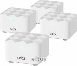 Netgear Orbi AC1200 Mesh Wi-Fi System (4-Pack) (RBK14-100NAS) (NISB)