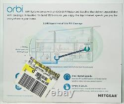 Netgear Orbi AC2200 1200 Mbps 4 Ports Wireless Wi-fi Router Model RBK30100NAS