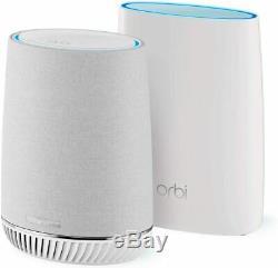 Netgear Orbi Mesh Wi-Fi System with Orbi Voice Smart Speaker