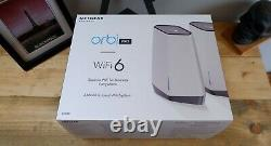 Netgear Orbi Pro WIFI 6 Tri-Band Mesh System AX6000 (SXK80) BRAND NEW SEALED