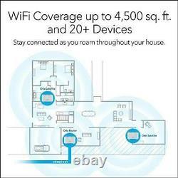 Netgear Orbi RBK13 Wi-Fi system mesh 1.2 Gbps 2.4 GHz / 5 GHz Gigabit