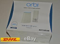 Netgear Orbi RBK30-100PES AC2200 Tri-band Mesh WLAN System Repeater Neu