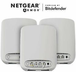 Netgear Orbi RBK353 Wi-Fi 6 Mesh System Router & 2 Satellite
