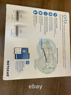 Netgear Orbi RBK50 Whole Home WiFi System Tri-band WiFi (Covers up to 5000sqm)