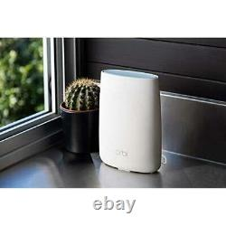 Netgear Orbi RBK53S Mesh Wi-Fi System with Router and 2x Extenders, Advanced