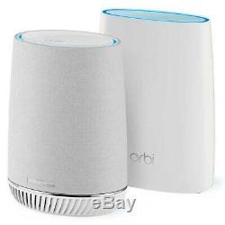 Netgear Orbi Voice Whole Home Mesh WiFi System Built in Smart Speaker RBK50V-1CC