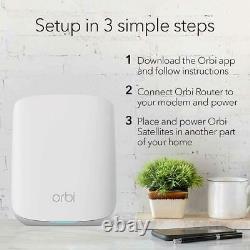 Netgear Orbi WiFi 6 Mesh System AX1800 (RBK353)