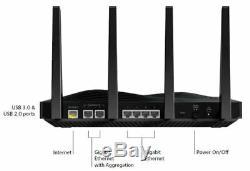 Netgear R8500 Nighthawk 5300 Mbps X8 Tri-band High Speed Gigabit Wireless Router
