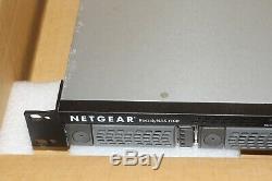 Netgear ReadyNAS 1100 Rackmount NAS Server Storage RNR4000