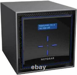 Netgear ReadyNAS 424 16 TB Desktop Ethernet LAN Network Attached Storage Black