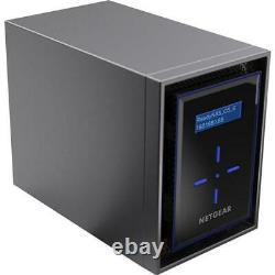 Netgear ReadyNAS RN422 2-Bay Desktop NAS (Network-Attached Storage) Enclosure