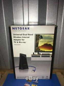Netgear Universal Dual Band Wireless Internet Adapter for TV & Blu-ray WNCE3001