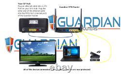 Netgear XR500 Guardian App VPN Router Nord Express IPVanish Pure SurfShark HMA +