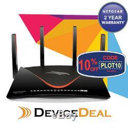Netgear XR700 AD7200 Nighthawk Pro Tri-Band Wireless wifi Gaming Router Black