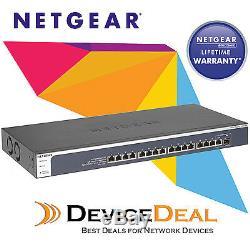 Netgear XS716E ProSAFE 16 Port 10-Gigabit Ethernet Web Managed (Plus) Switch
