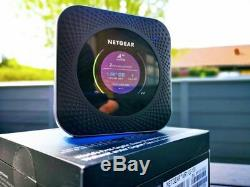 Netgear nighthawk M1 MR1100 4G LTE mobile router unlocked with antenna package
