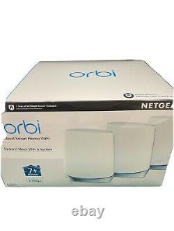 Netgear orbi Robust Smart Home WiFi 6 System AX4200 RBK753S NEW SEALED