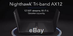 Neu OVP Netgear WLAN Router AX11000 Nighthawk Tri-Band AX12 12-Stream WiFi 6