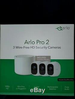 New Arlo Pro 2 3-pack with INDOOR & OUTDOOR MOUNTS