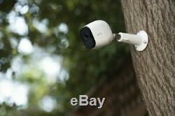 New Arlo Pro 4-Camera Indoor/Outdoor Wireless 720p Security Camera System White