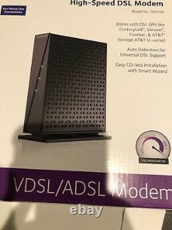New NETGEAR Broadband High-Speed DSL Modem VDSL/ADSL (DM200)
