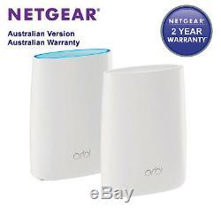 New NETGEAR Orbi High-performance AC3000 Tri-band WiFi System (RBK50)