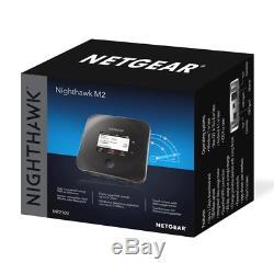 New Netgear Nighthawk M2 4g Lte Mobile Router Mr2100 Telstra Locked 1y Wty