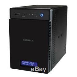 New Netgear Readynas 214 Media Hub 4 Bay Consumer Desktop Nas (Diskless)