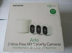 New Sealed Arlo Wire-free Hd Security Camera Kit Netgear Vms3330-100eus
