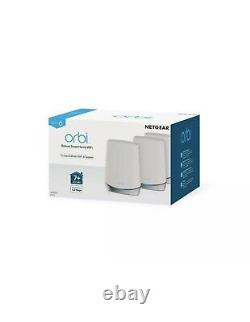 Orbi Whole Home Tri-Band WiFi 6 Mesh System (RBK753) WiFi 6 Router