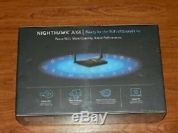 Sealed NETGEAR Nighthawk AX3000 4-Stream Dual-Band Wi-Fi 6 Router RAX35-100NAS