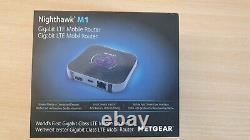 UNBLOCKED Netgear Nighthawk M1 Gigabit LTE 4g Mobile Router (MR1100-100EUS) -NEW