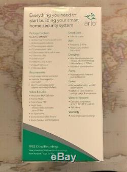 VMS4230-100NAS Netgear Arlo Pro 2-Camera Indoor Outdoor Wireless HD Security Kit
