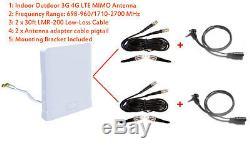 Verizon Jetpack Hotspot AC791L NETGEAR AirCard 791L 3G 4G LTE Omni MIMO Antenna